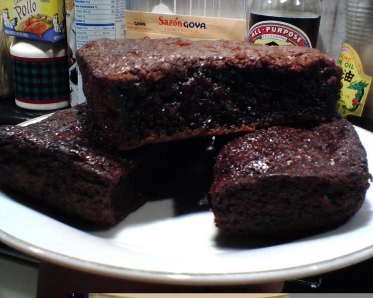 Chocolate Mochi Cake:
