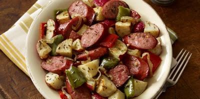 Hillshire Farm Sausage and Potato Bake   My Life, My Kids and Everyth ...