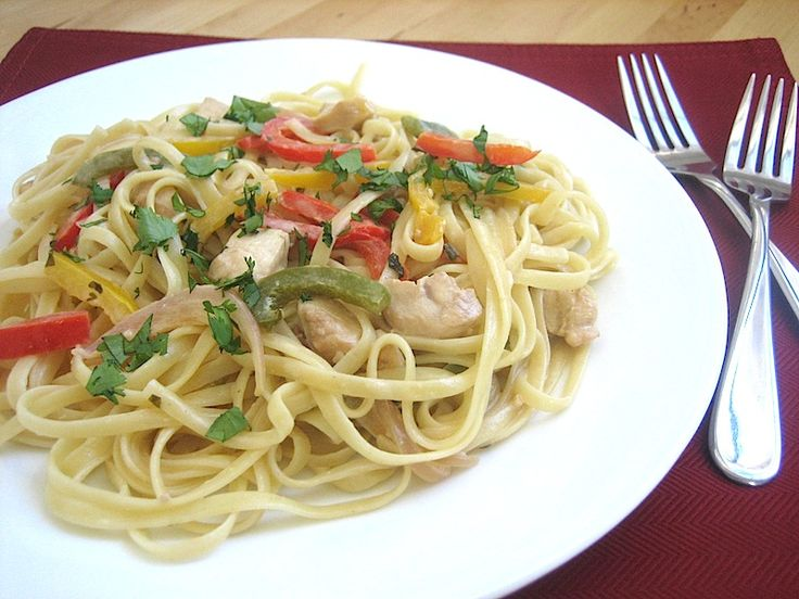 Chicken Tequila Fettuccine - make it tonight!