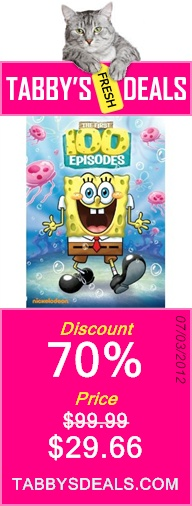 SpongeBob SquarePants: The First 100 Episodes $29.66