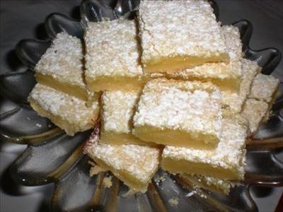 Gingered Lemon Bars -gluten free | What's Cookin' | Pinterest