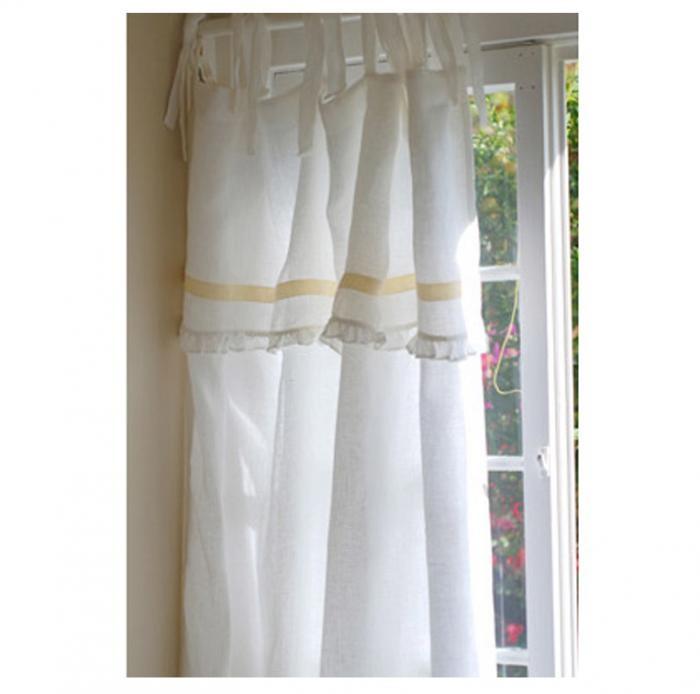 Linen Voile Top Curtain | Nursery Decor | Pinterest
