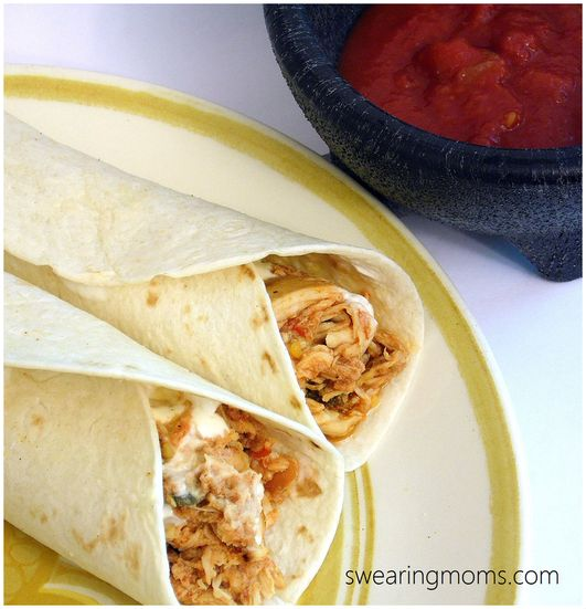 Mouth-watering Chicken Soft Tacos | Around the Table | Pinterest