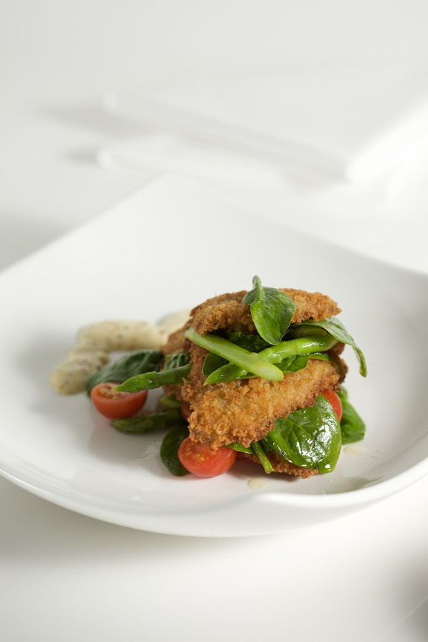 Pan fried Parmesan Veal with Asparagus | For my Italian Kitchen. | Pi ...