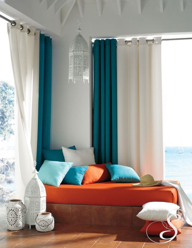 "Breathtaking"" colors in this new linen look introduced by Softline ..."