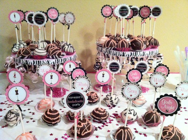 Cake Pop Display Carolyn S Bachelorette Party Pinterest