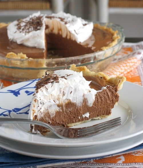 Chocolate French Silk Pie | Recipes | Pinterest