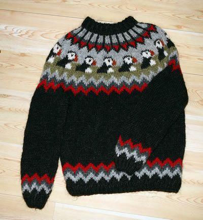 Puffin Sweater Sweater Grey