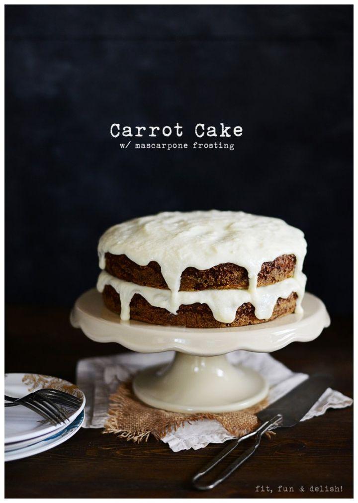 Carrot Cake & Mascarpone Frosting | Cakes | Pinterest