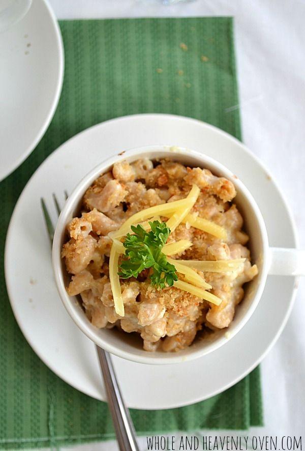 White Cheddar Macaroni & Cheese, --- Super cheesy mac 'n' cheese ...