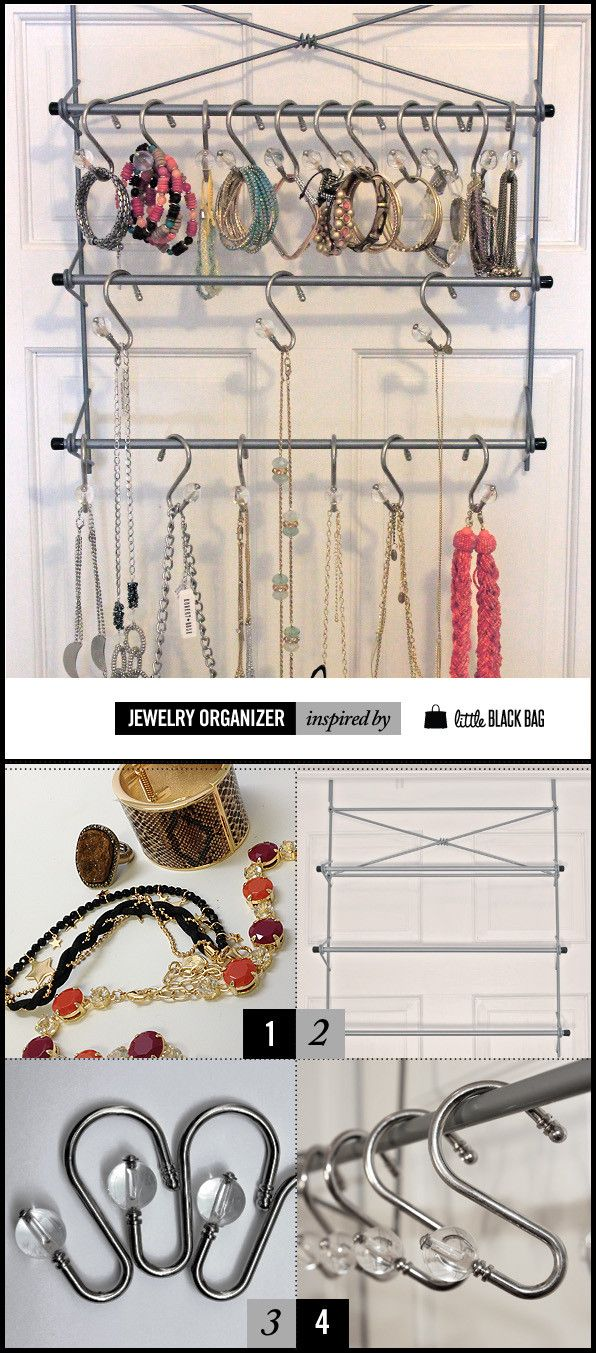 how to make your own jewelry organizer diy pinterest