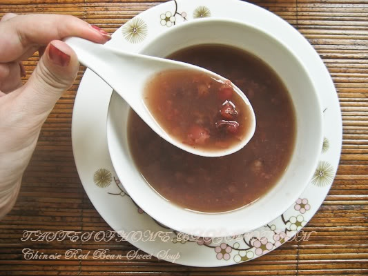 Chinese Red Bean Sweet Soup | Homemade Food Recipes | Pinterest