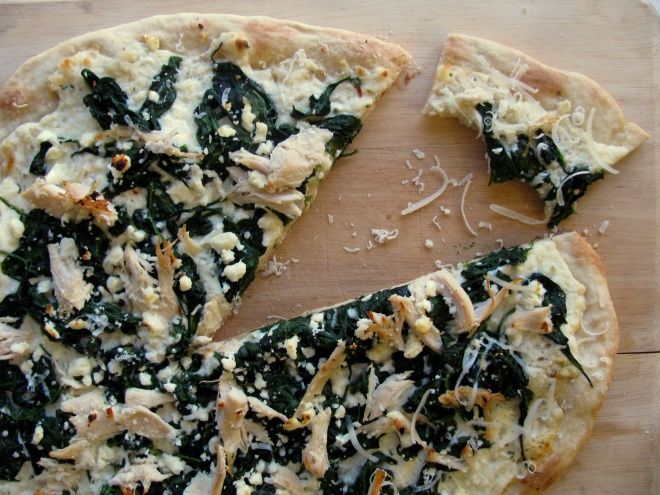 More like this: spinach pizza , roasted turkey and ricotta .