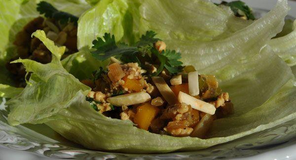 chicken-lettuce-cups | Recipes | Pinterest