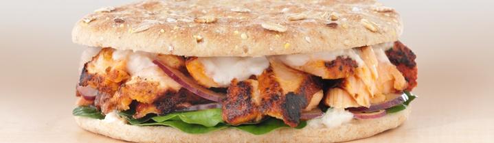 Arnold Select Sandwich Thins® - Recipes - Blackened Salmon Sandwich