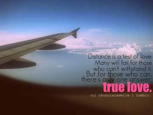 True love knows no distance... | Cartography .:. Maps ...