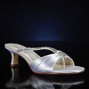dyeable bridal shoes - royal blue, doing this