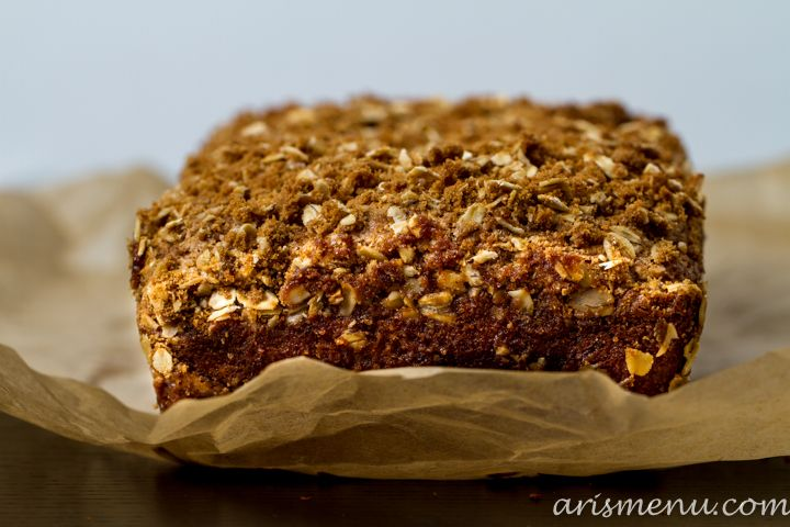 biscoff banana bread with biscoff cookie streusel biscoff banana bread ...