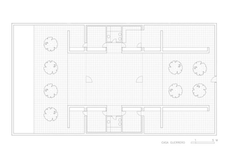 Casa guerrero plan architects alberto campo baeza - Casa guerrero campo baeza ...