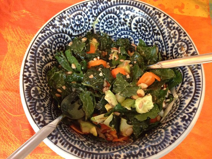 kale salad kale caesar salad asian raw kale salad weekend glow kale ...