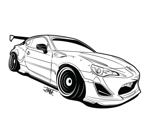 Frs rocket bunny art rocket bunny frs automobilia pinterest for Houseplan com