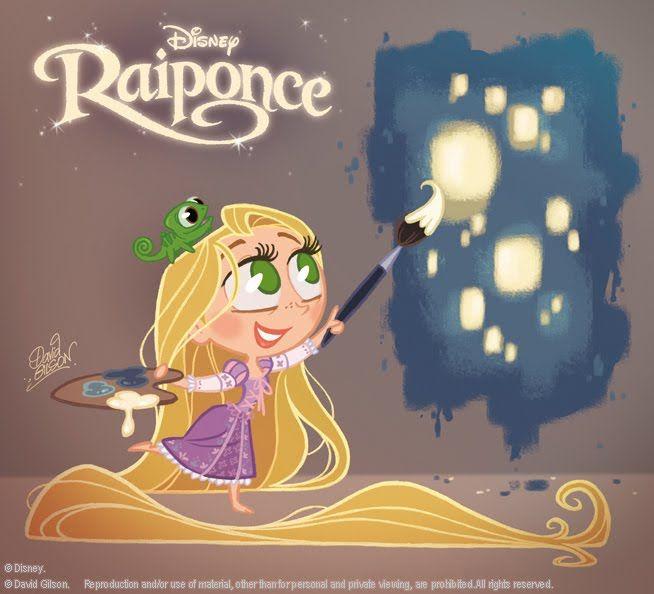 another David Gilson Rapunzel