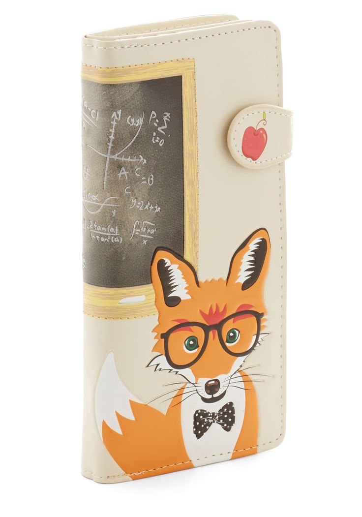 Mathematic Mr. Fox Wallet