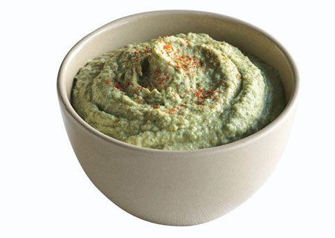Parsley Hummus for Cauliflower Crudités THINKING I WILL MAKE THIS ...
