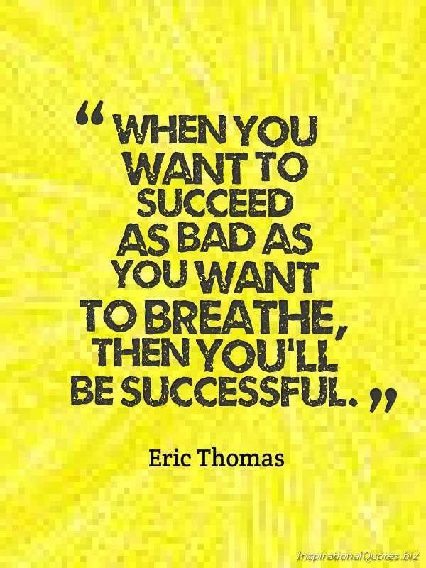 Eric thomas quotes