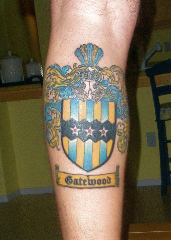 english coat of arms tattoo - photo #6