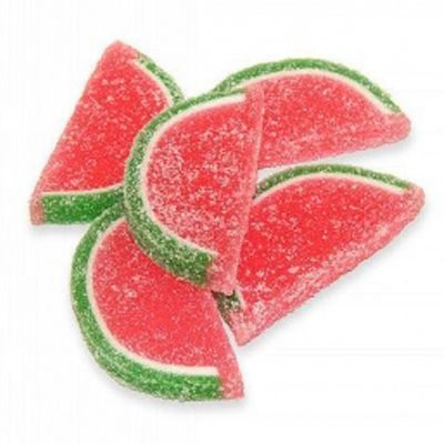 Old Fashioned Watermelon Slices Candy