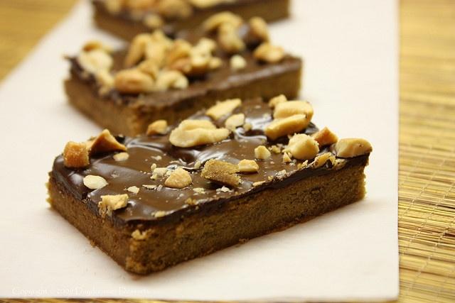 Mocha Toffee Cashew Bars | Brownies & Bars | Pinterest