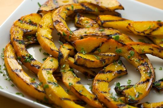 Sweet and Sour Grilled Pumpkin | Dinner | Pinterest