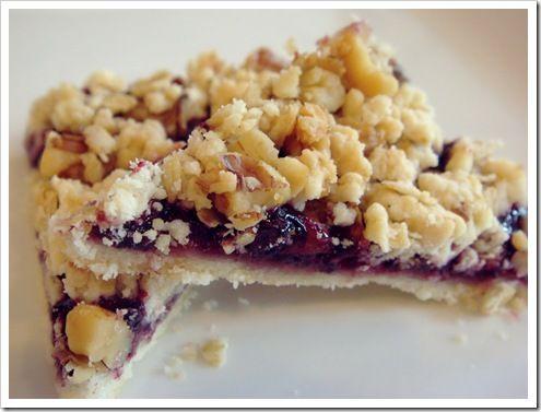 Twelve (More) Days of Christmas Cookies: Raspberry Crumb Bars