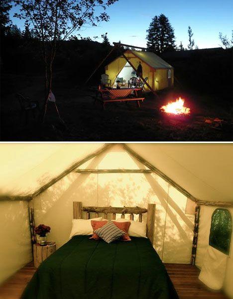 Go Glamping: 15 Glamorous U.S. Camping Destinations  camping ...