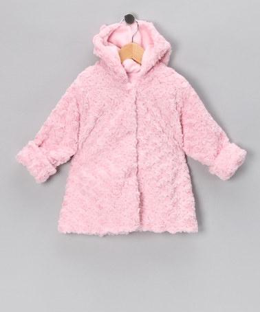 Pink Twist Swing Coat