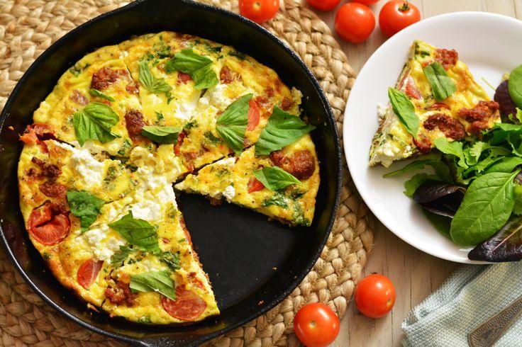 Italian Sausage and Ricotta Frittata | Recipe