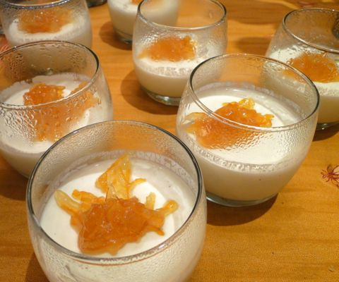 cotta mango panna cotta lemon panna cotta with lemon marmalade recipes ...
