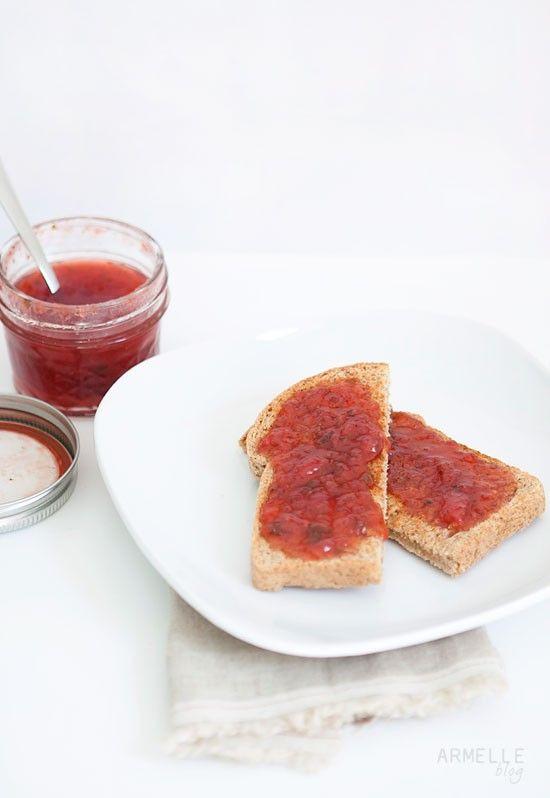 strawberry basil jam … | Mom's Best Network