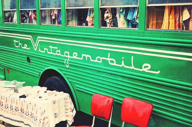 vintage mobile shop