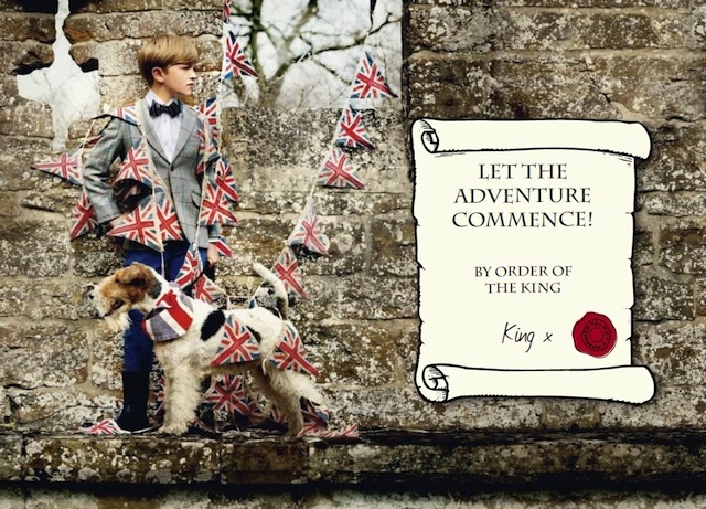 The Terrier and Lobster: Little Britons: Hackett for Kids Autumn/Winter 2012