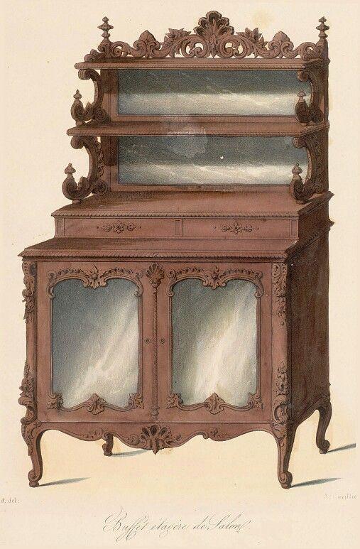 Rococo furniture  Rococo  Pinterest