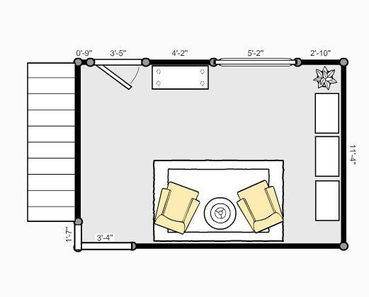 Galerry design living room floor plan