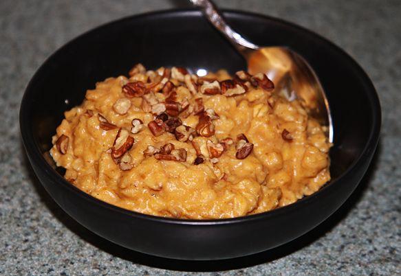 Pumpkin Oatmeal Recipe With Truvia Sweetener (Weight Watchers Friendly ...