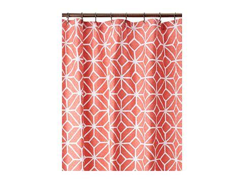 Striped Shower Curtain Multicolor