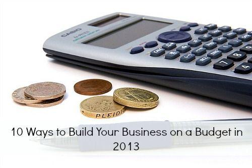 shoestring business plan
