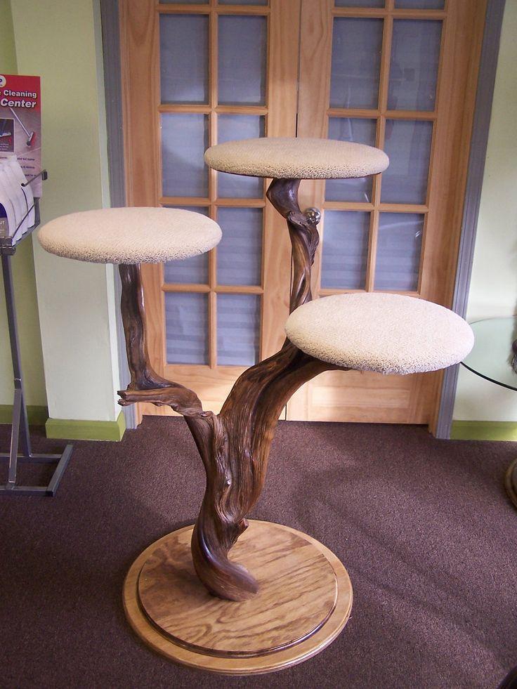 Juniper cat tree via etsy cat diy projects pinterest for Diy cat tree
