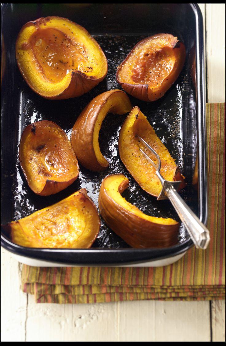 Maple Roasted Pumpkin Wedges | Recipe