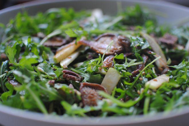 Eclectic Mom - Home - warm mushroom salad