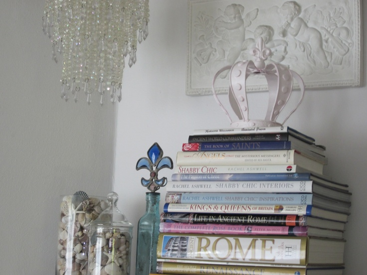 Mantle Decor My Shabby Chic Style At Home Pinterest